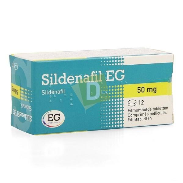 Sildénafil EG 50 mg x 12 Comprimés
