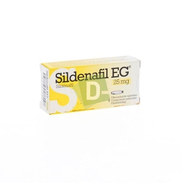 Sildénafil EG 25 mg x 4 Comprimés