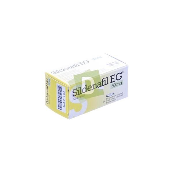 Sildénafil EG 50 mg x 24 Comprimés