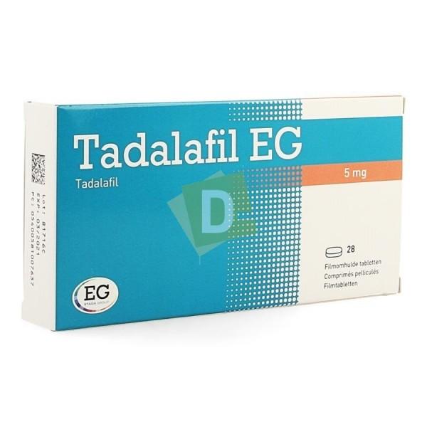 Tadalafil EG 5 mg x 28 Comprimés pelliculés