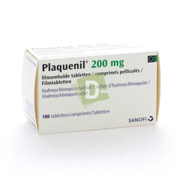 Plaquenil 200 mg x 30 Comprimés