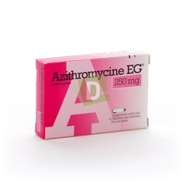 Azithromycin EG 250 mg x 6 Tablets