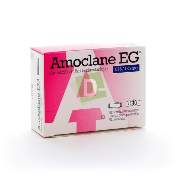 copy of Amoclane EG 875 mg / 125 mg x 20 Comprimés pelliculés