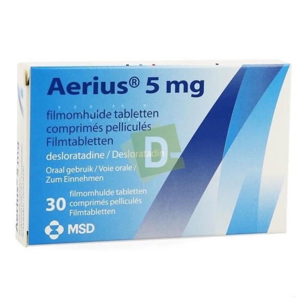 Aerius 5 mg x 30 Comprimés pelliculés