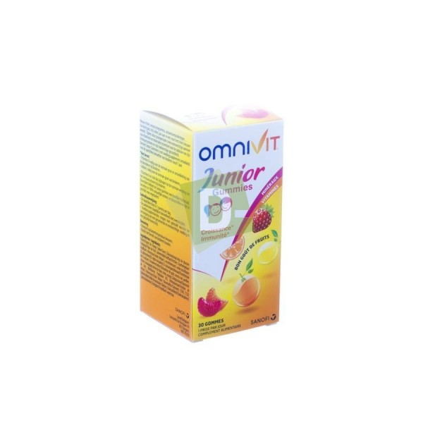 Omnivit Junior Multivitamines 30 Gommes
