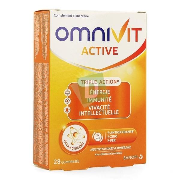 Omnivit Active Multivitamines et Minéraux 28 Comprimés