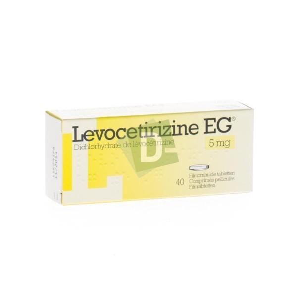 Lévocetirizine EG 5 mg x 40 Comprimés pelliculés