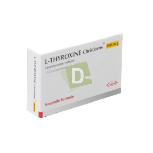 L-Thyroxine Christiaens 0.100 mg x 112 Comprimés