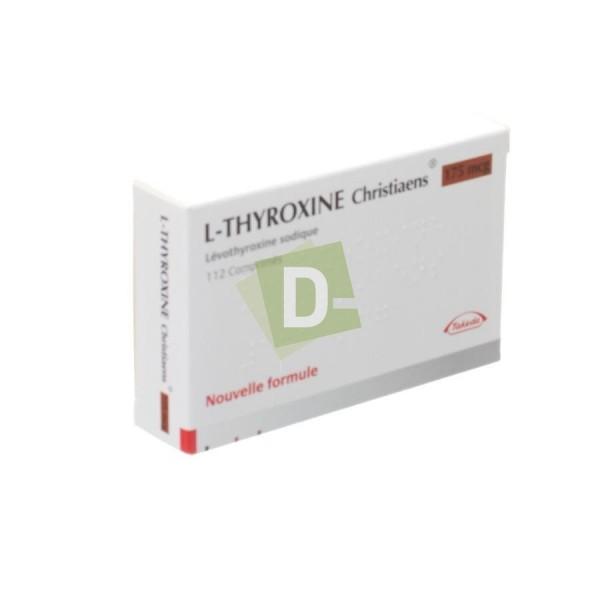 L-Thyroxine Christiaens 0.175 mg x 112 Tablets