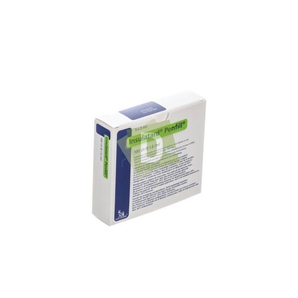 Insulatard Penfill 100 UI/ml 5 x 3 ml