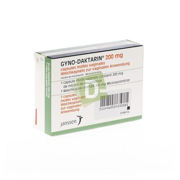 Gyno-Daktarin Ovule 7 x 200 mg