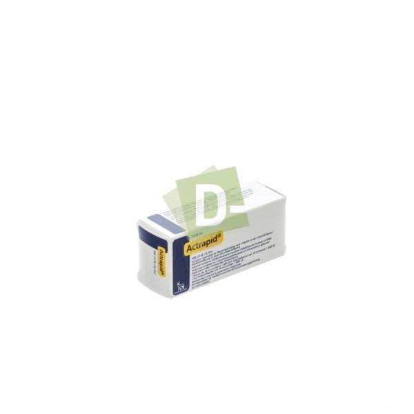 Actrapid 100 UI/ml 1 x 10 ml
