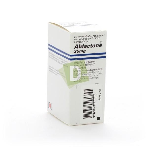 Aldactone 25 mg x 50 Comprimés pelliculés