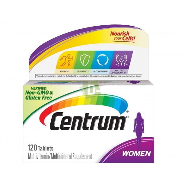 Centrum Women Multivitamines 120 Comprimés