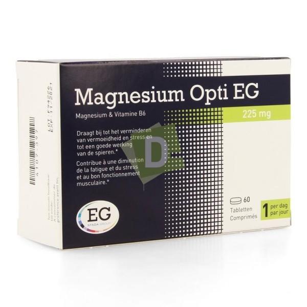 Magnesium Opti EG 225 mg x 60 Comprimés