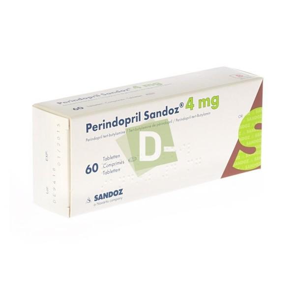 Perindopril Sandoz 4 mg x 60 Comprimés