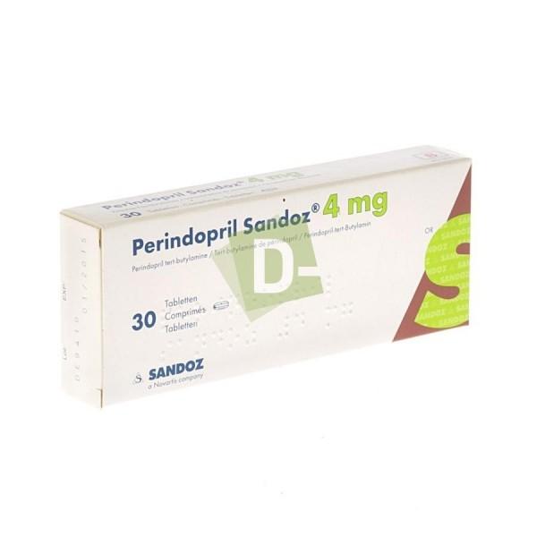 Perindopril Sandoz 4 mg x 30 Comprimés