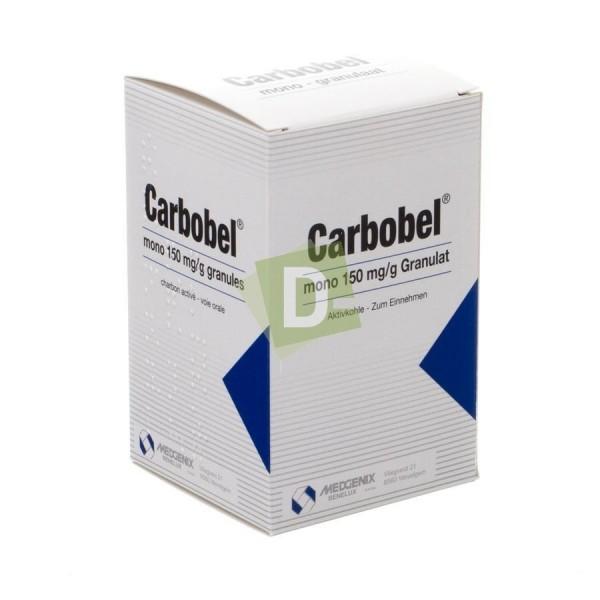 Carbobel Mono 150 mg / g Aggregate 70 g