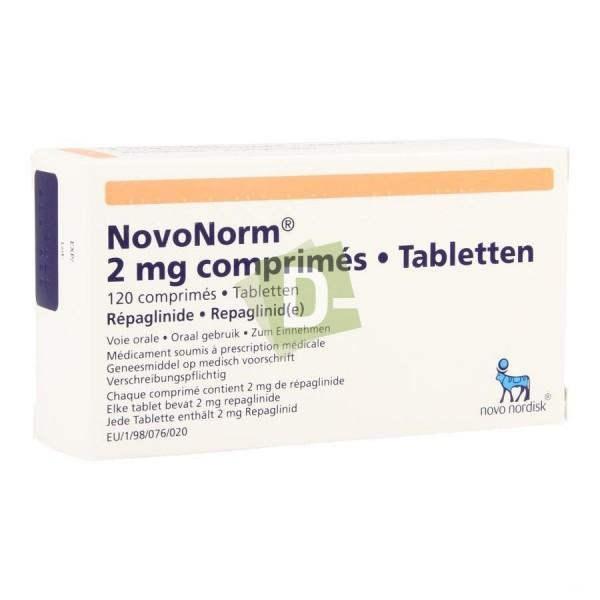NovoNorm 2 mg x 120 Comprimés