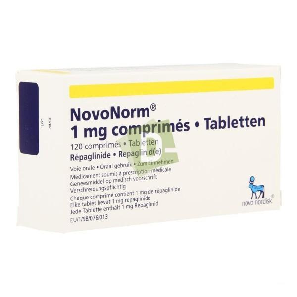 NovoNorm 1 mg x 120 Tablets