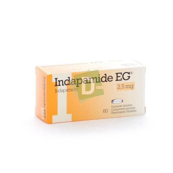 Indapamide EG 2.5 mg x 60 Comprimés enrobés