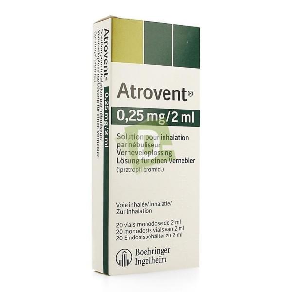 Atrovent Monodose 0.25 mg / 2 ml x 20 vials