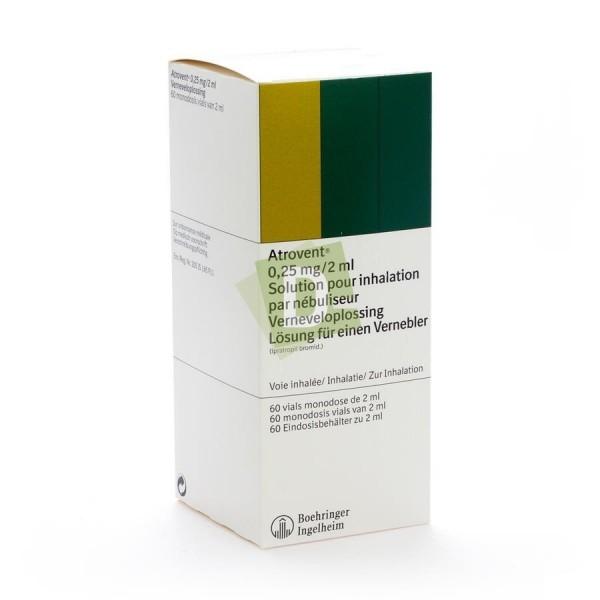 Atrovent Monodose 0.25 mg / 2 ml x 60 vials
