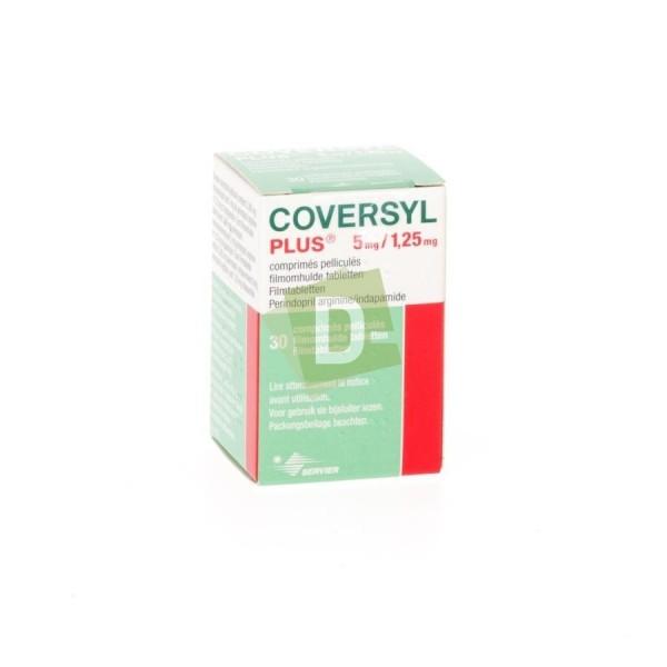 Coversyl Plus 5 mg / 1,25 mg x 30 Comprimés