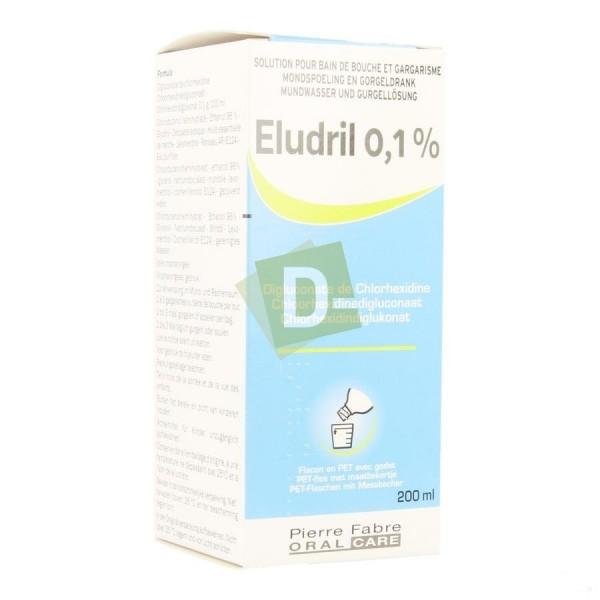 Eludril 0.1% mouthwash solution 200 ml