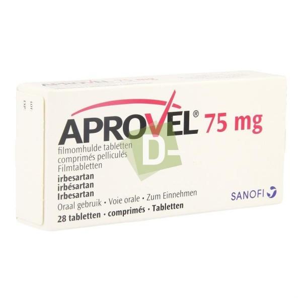 Aprovel 75 mg x 28 Tablets