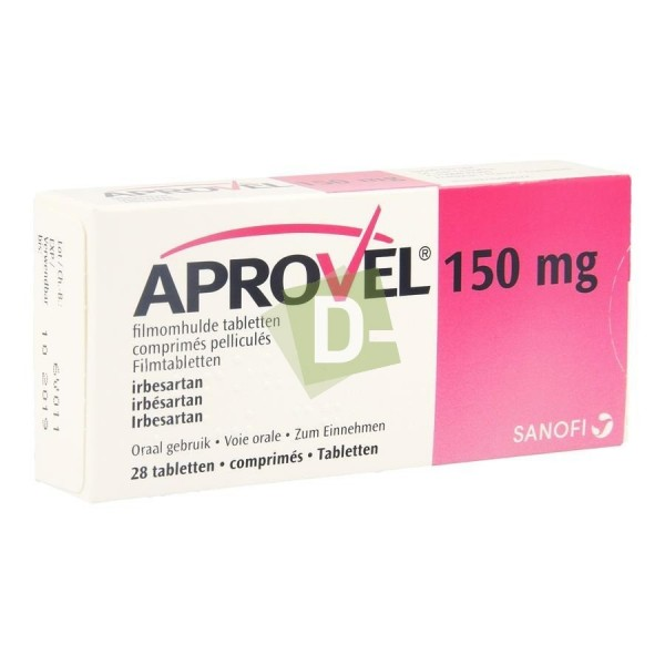 Aprovel 150 mg x 28 Tablets