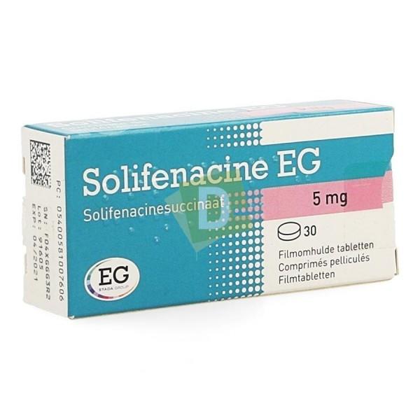 Solifénacine EG 5 mg x 30 Comprimés pellliculés