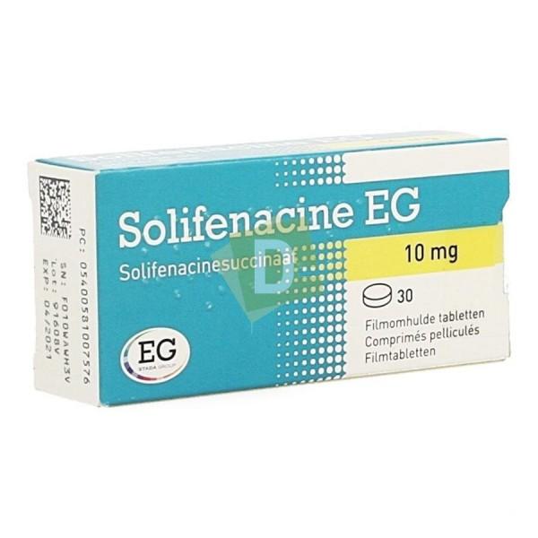 Solifénacine EG 10 mg x 30 Comprimés pellliculés