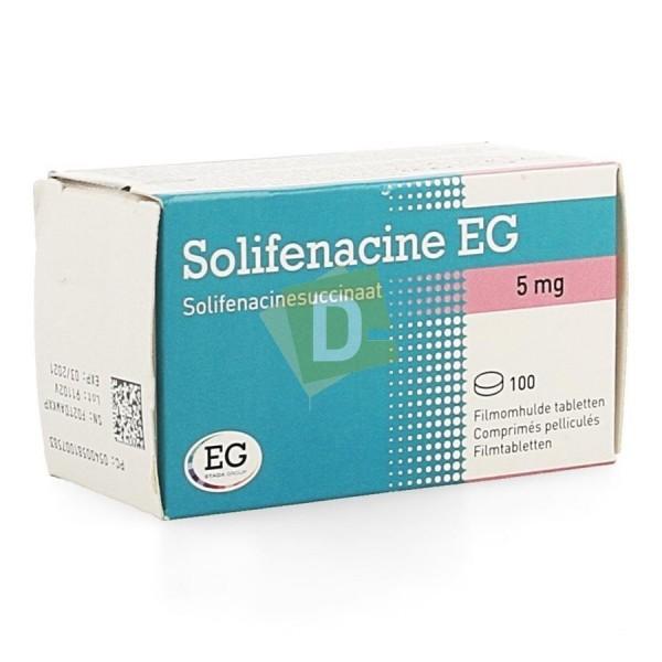 Solifénacine EG 5 mg x 100 Comprimés pellliculés