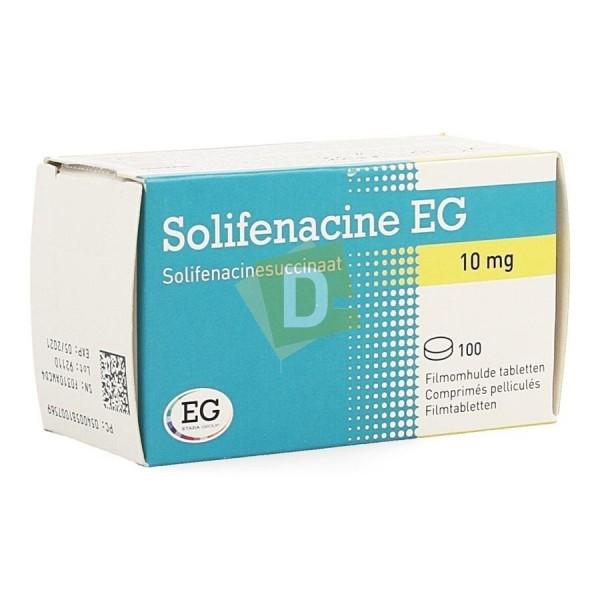 Solifénacine EG 10 mg x 100 Tablets