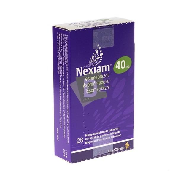 Nexiam 40 mg x 28 Gastro-resistant tablets: Gastroesophageal reflux disease