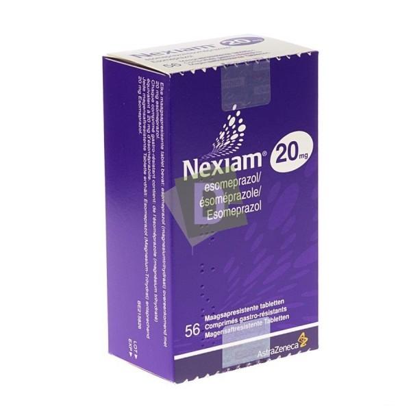 Nexiam 20 mg x 56 Gastro-resistant tablets
