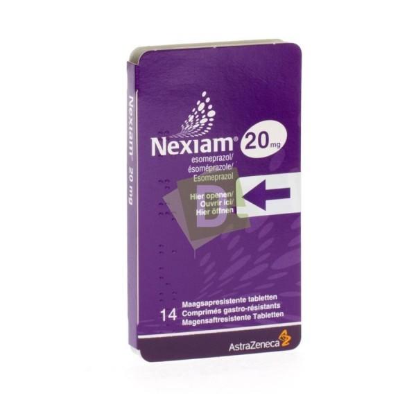 Nexiam 20 mg x 14 Comprimés gastro-résistants : Maladie du reflux gastro-oesophagien
