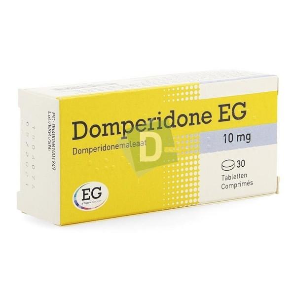 Domperidone EG 10 mg x 30 Tablets