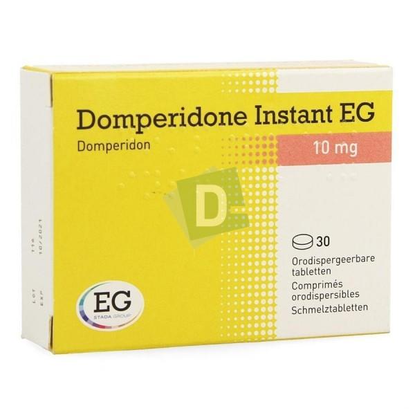 Dompéridone Instant EG 10 mg x 30 Comprimés orodispersibles