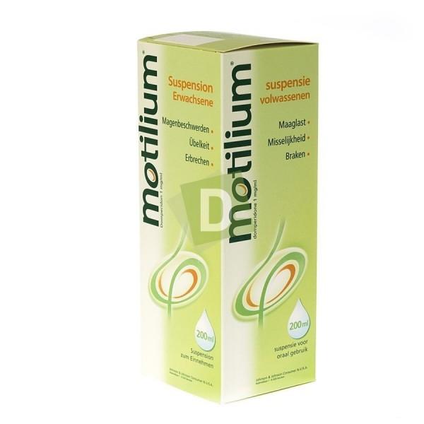 Motilium 10 mg Oral Solution 200 ml