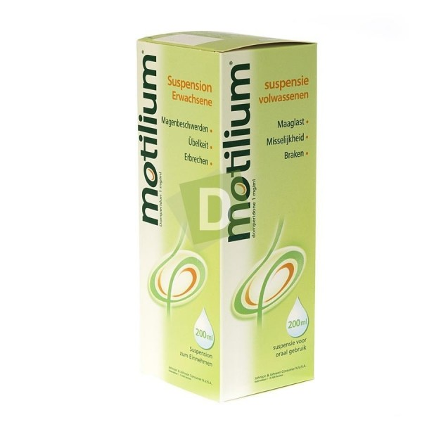 Motilium 10 mg Solution Buvable 200 ml