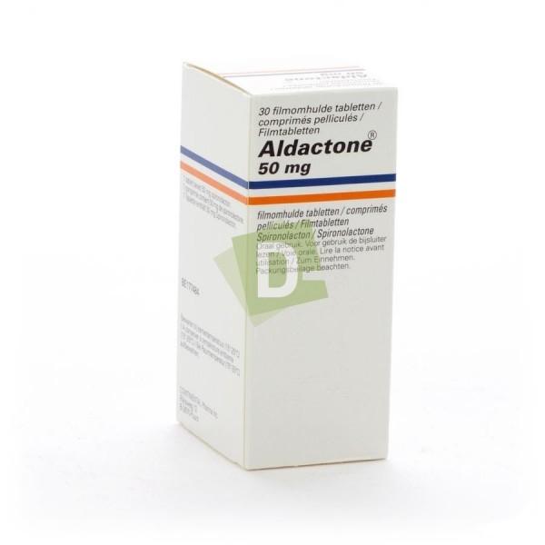 Aldactone 50 mg x 30 Comprimés pelliculés