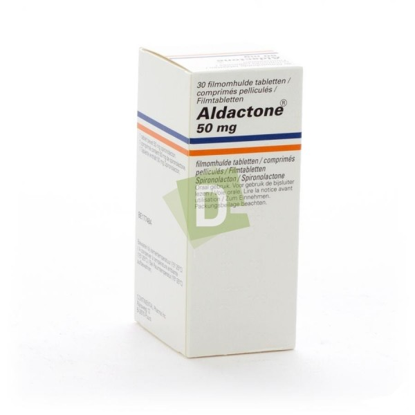 Aldactone 50 mg x 30 Film-coated tablets