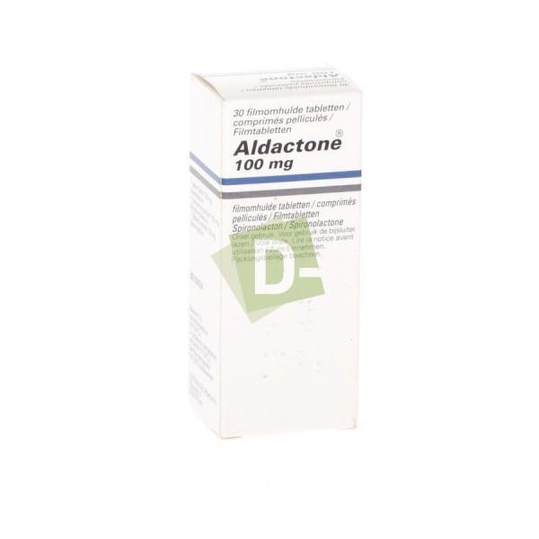 Aldactone 100 mg x 30 Comprimés pelliculés