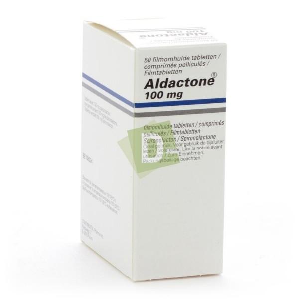 Aldactone 100 mg x 50 Comprimés pelliculés