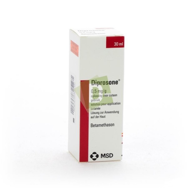 Diprosone Solution 0,5 mg/g 30 ml
