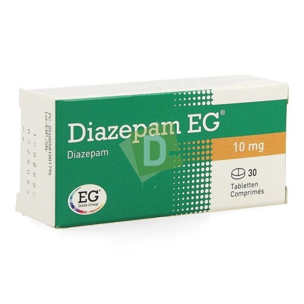 Diazepam EG 10 mg x 30 Comprimés sécables