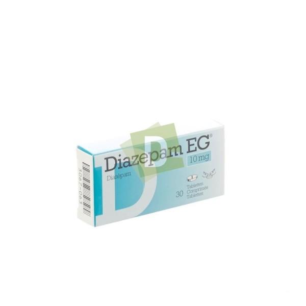 Diazepam EG 10 mg x 30 scored tablets