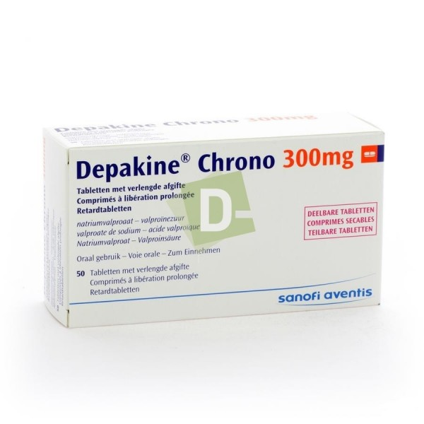 Depakine Chrono 300 mg x 50 Prolonged Release Tablets